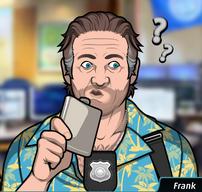 Frank Aturdido después de beber