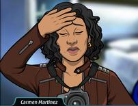 Carmen aliviada