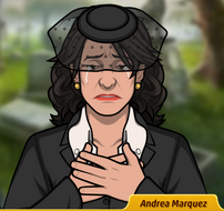 Andrea Llorando 2