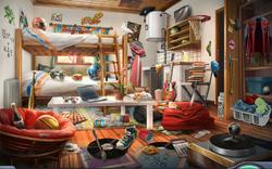 Dormitorio de Troy HMC