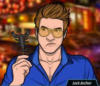 Jack con el pincho de escorpión
