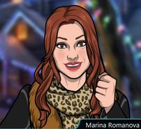 Marina Con ropa de invierno