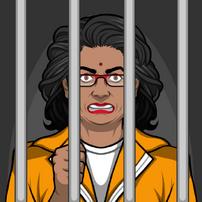 Shweta en prisión2