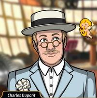 Charles con un traje de lujo2