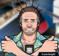 Frank Sintiendo frio