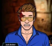 Jack con una bala en la cabeza