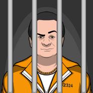 Tony arrestado por segunda vez