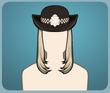 Kadın Polis Şapkası