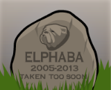 Elphaba's gravestone