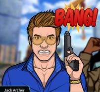 Jack con su pistola rabioso 2