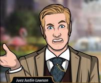 Justin en El shock de la muerte