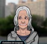 Mujer luzaguaya