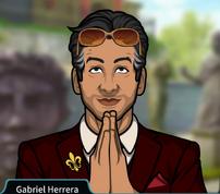Gabriel Haciendo un gesto de Namaste