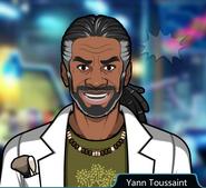 Yann Toussaint Determined
