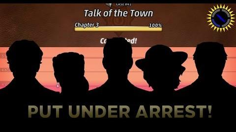 Criminal Case Mysteries of the Past Case 41 - Talk of the Town Arrest Killer