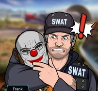 Frank sosteniendo a Papa Quansah