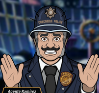 Agente Ramirez en A Gran Subida...