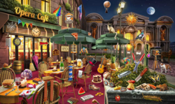 CrimeScene Opera Cafe