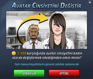 Avatar Cinsiyet