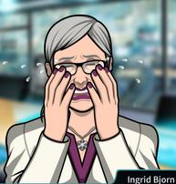 Ingrid llorando 2