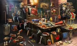 CrimeScene Printing Table