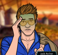 Jack disgustado