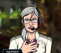 Ingrid lesionada