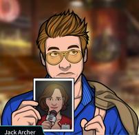 Jack con una foto de Kelly