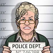 Sue ellen mugshot