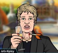 Ripley Golpeada por un dardo