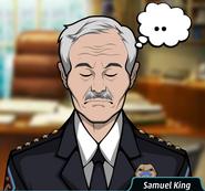 Samuel rahatlarken