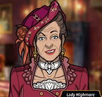 Lady Highmore en Matarlo Bien Muerto