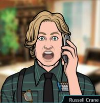 Russell en el teléfono Shockeado