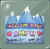 Tarjeta para Amy