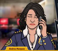 Andrea por teléfono, sin esperanza