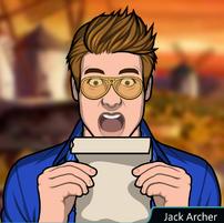 Jacvk leeyendo un pergamino