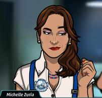 Michelle sonriendo 2