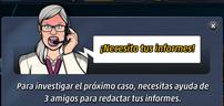 Ingrid necesita tus informes