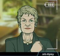Ripley orgullosa