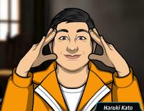 Haruki uniforme prision