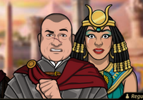 Regulos en Egipto en Llamas