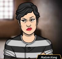 Madam Xiang uniforme prisión