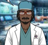 Nathan en su Laboratorio