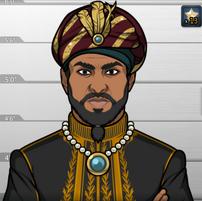 Sultán Mahmoud en Morir por la Espada
