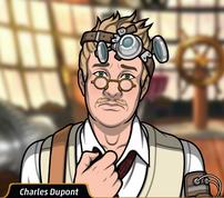 Charles triste