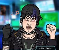 Elliot cantando