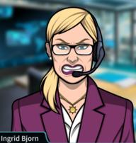 Ingrid enojada 3