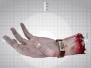 Jerry McKenzie's Hand