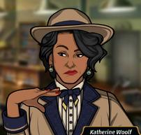 Katherine en Un Trago Abrasador