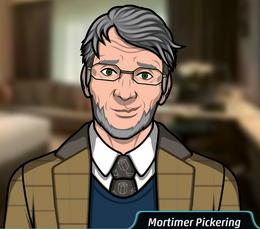 Mortimer en Sangre en el Agua